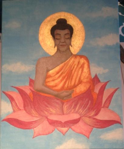 budda-lotus